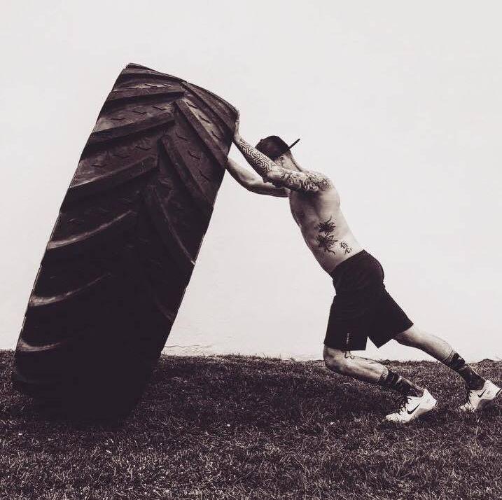 Thomas Chambres, coach de CrossFit à Anglet